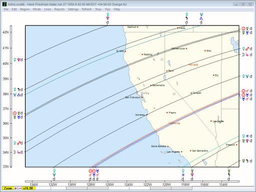 Janus Local Space Map